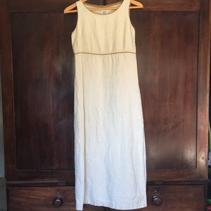 Vintage linen dress by GAP
